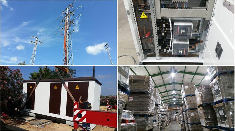 ingeniería eléctrica de la empresa saergy