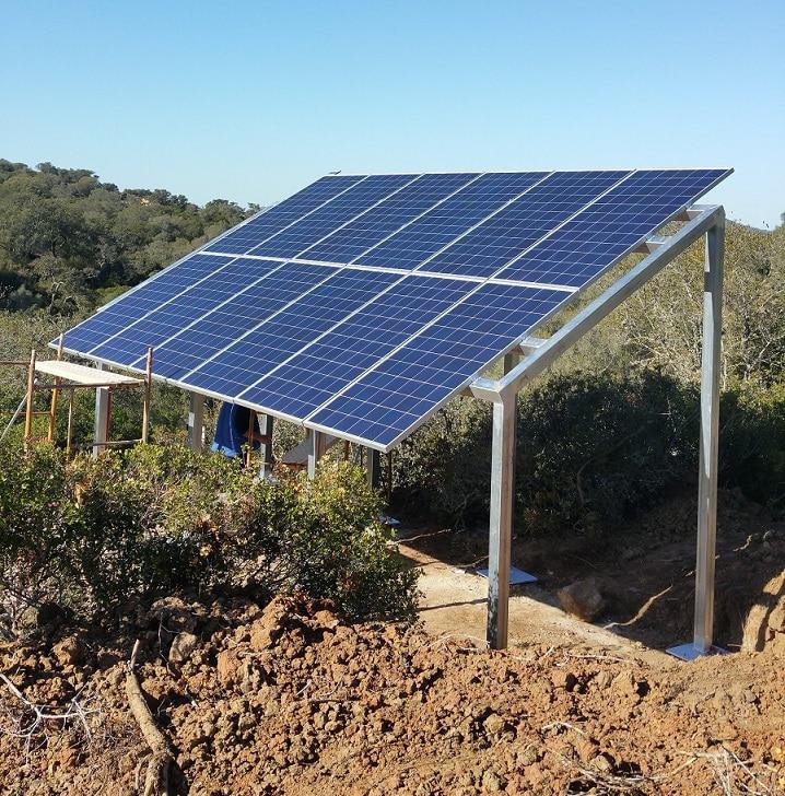 instalacion fotovoltaica bombeo