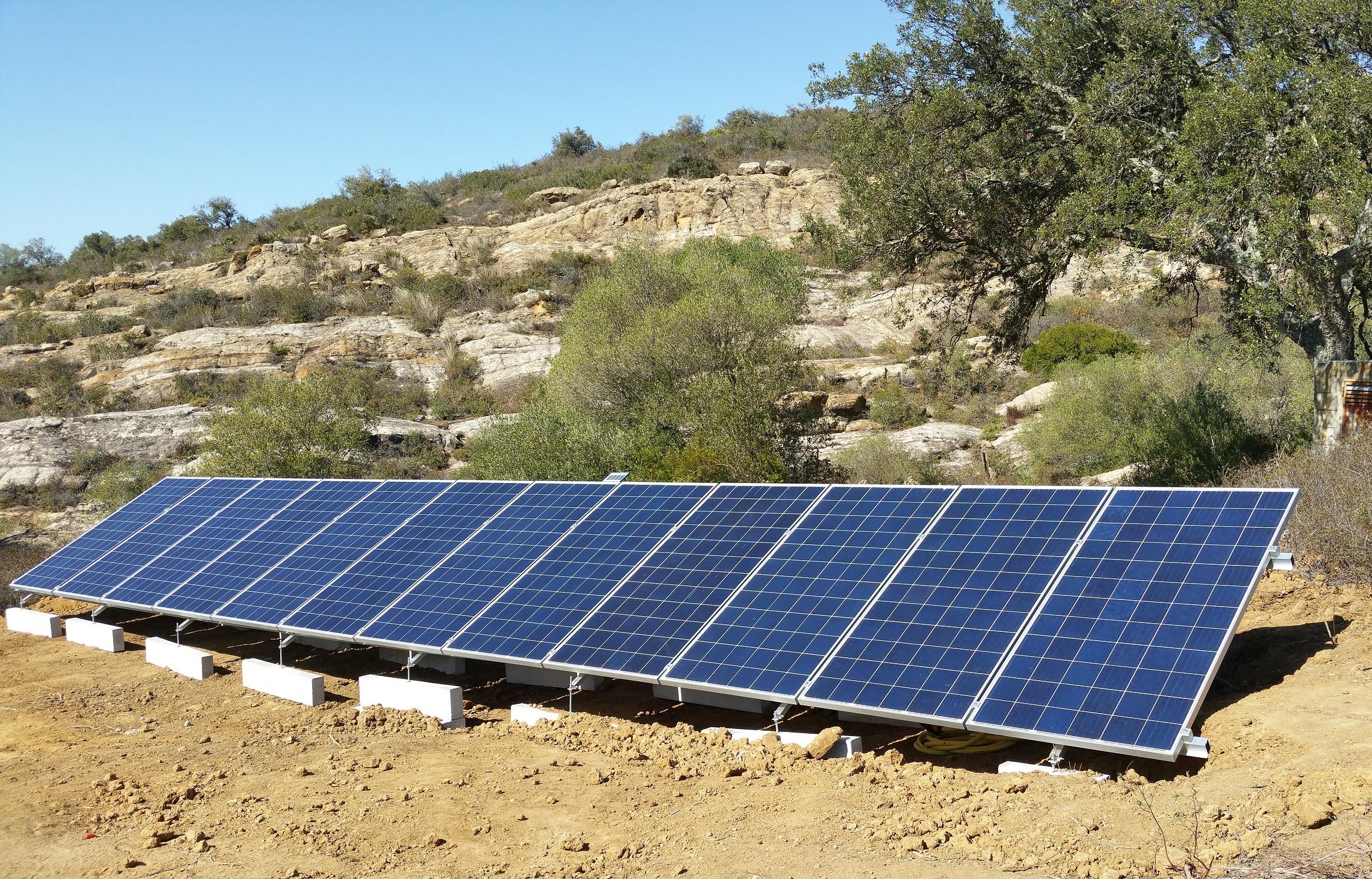 instalacion fotovoltaica bombeo solar